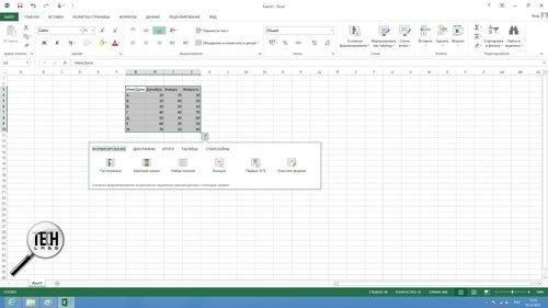 Как сделать круговую диаграмму в excel 2013